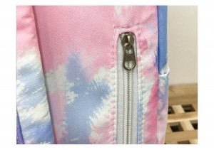 Рюкзак школьный Ming Hao MH696 Градиент молнии крупным планом