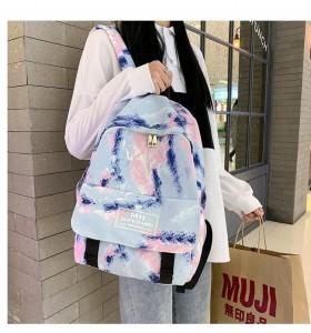 Рюкзак школьный Ming Hao MH696 Градиент 3 на девочке