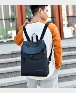 Рюкзак школьный Celvin Kloin Jeans 6916 черный фото 2 на модели