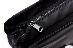 Рюкзак школьный Celvin Kloin Jeans 6916 черный фото молнии крупным планом