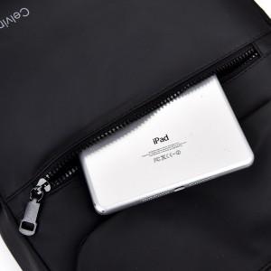 Рюкзак школьный Celvin Kloin Jeans 6916 черный карман на передней панели