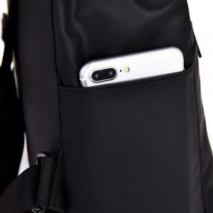 Рюкзак школьный Celvin Kloin Jeans 6916 черный фото бокового кармана