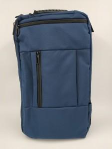 Бизнес рюкзак для мужчин OZUKO 9225 синий лента для крепления на ручку чемодана